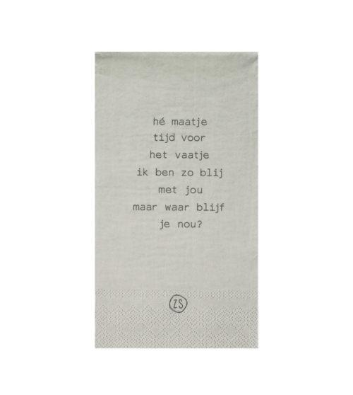 no28wonen.nl -Zusss servetten - no28wonen en lifestyle