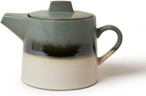 tee pot groen jaren 70 van HK Living -wonen en lifestyle webshop no28wonen.nl