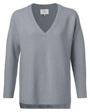 diepblauwe trui van yaya bij no28wonen.nl