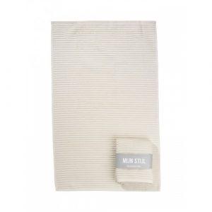 Mijn Stijl - handdoek beige - wonen en lifestyle webshop no28wonen