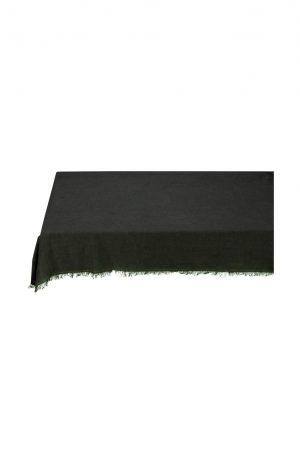 tafelkleed linnen donker grijs - wonen en lifestyle webshop no28wonen