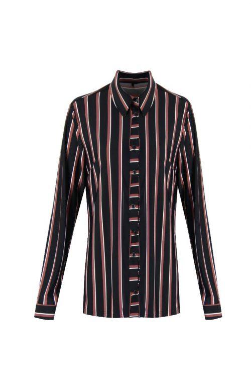 blouse met streep no28wonen.nl