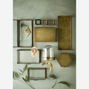 glazen box brass - wonen en lifestyle webshop no28wonen