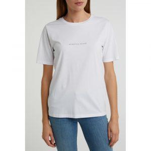 shirt van katoenmix met quote - wonen en lifestyle webshop no28wonen