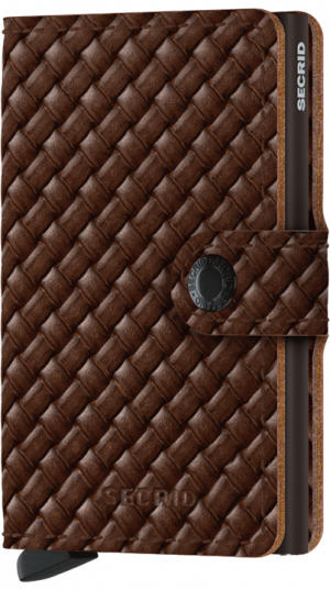 secrid miniwallet basket brown no28wonen en lifestyle