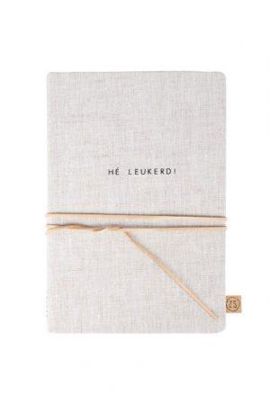 Zusss notitieboek met veter he leukerd no28wonen