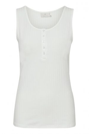 Kaffe tank top chalk no28wonen