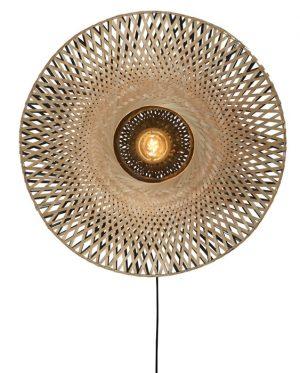 wandlamp Kalimantan Bamboo M - wonen en lifestylewebshop no28wonen
