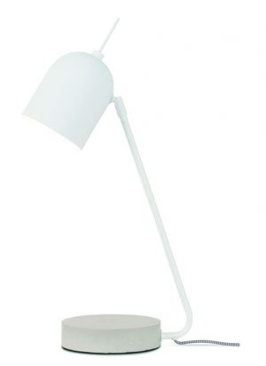 Tafellamp Madrid wit - wonen en lifestyle webshop no28wonen