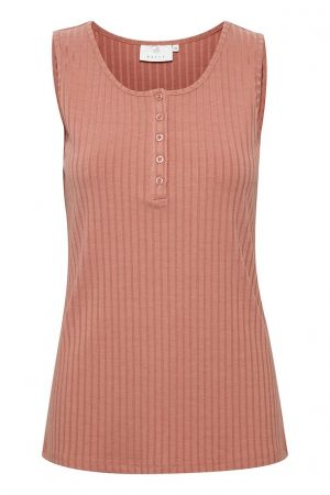 Kaffe tank top old rose no28wonen