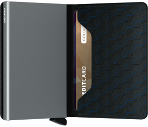 secrid slim wallet optical black titanium no28wonen en lifestyle webshop