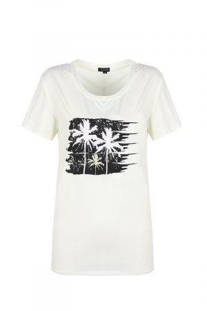 G-maxx t-shirt met palmbomen no28wonen