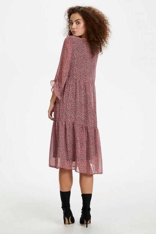 Kaffe jurk oud roze no28wonen