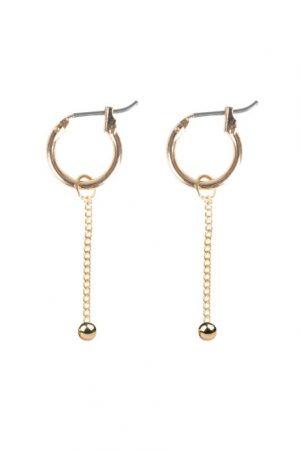 oorbellen van zusss hangertje goud -wonen en lifestyle webshop no28wonen