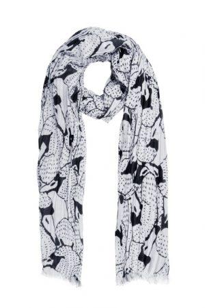 sjaal zwanen kunst van zusss -wonen en lifestyle webshop no28wonen