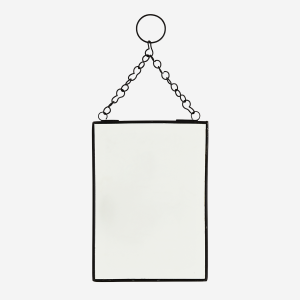 no28wonen.nl spiegel rechthoekig zwart 13x18 cm no28 wonen en lifestyle webshop