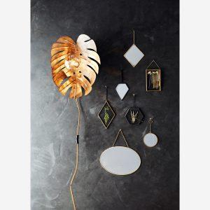no28wonen.nl Madam Stoltz spiegel ovaal horizontaal no28 wonen en lifestyle webshop