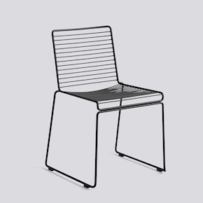 no28wonen.nl Hay hee dining chair black no28 wonen en lifestyle webshop