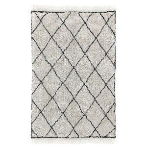 no28wonen.nl HKliving cotton diamond rug (120x180) wonen en lifestyle