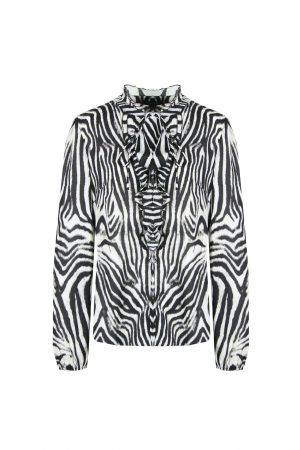 no28wonen.nl blouse zebra print no28wonen en lifestyle