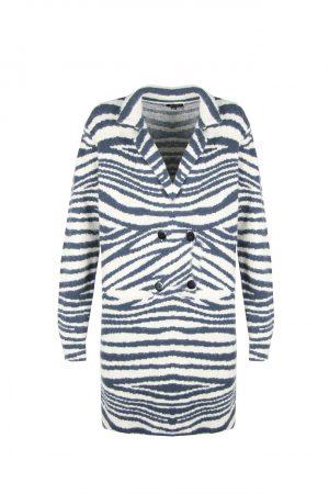 no28wonen.nl lang vest met zebraprint no28wonen en lifestyle