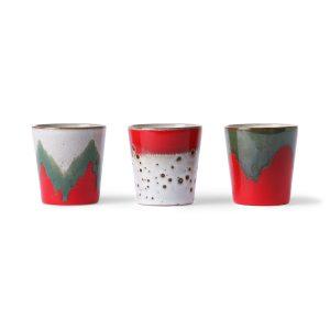 no28wonen.nl Hkliving ceramic 70's mugs: the christmas t(h)ree no28wonen en lifestyle