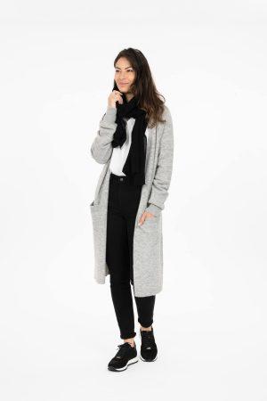 no28wonen.nl zusss basic sjaal zwart no28wonen en lifestyle