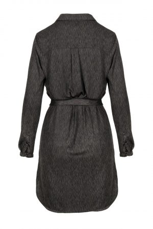 no28wonen.nl Zusss blouse jurk met print grafiet no28wonen en lifestyle