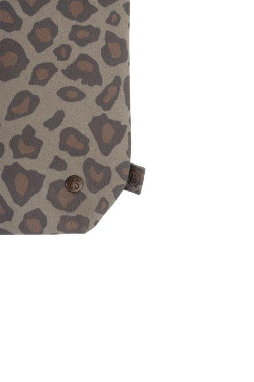no28wonen.nl -Zusss basic schoudertas m leopard - no28wonen en lifestyle