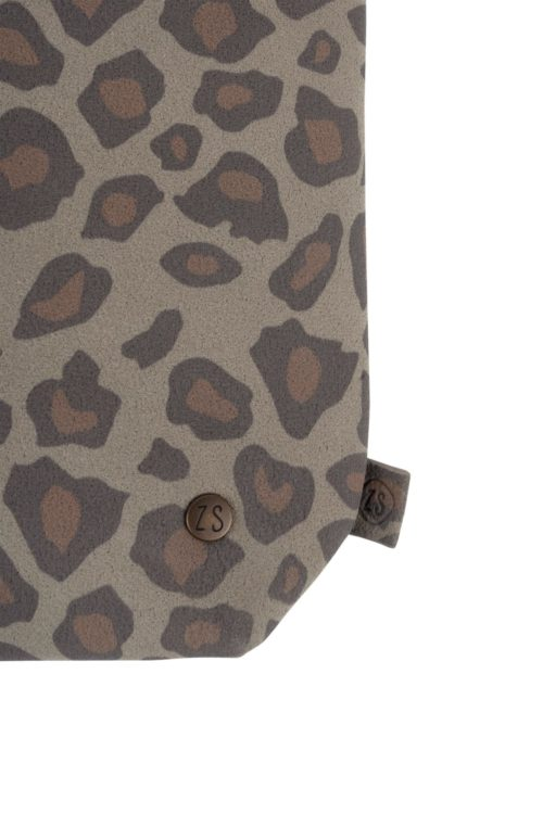 no28wonen.nl -Zusss basic schoudertas s leopard - no28wonen en lifestyle