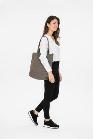 no28wonen.nl -Zusss basis shopper mat taupe - no28wonen en lifestyle