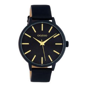 zwart unixes horloge van oozoo- wonen en lifestyle webshop no28wonen.nl
