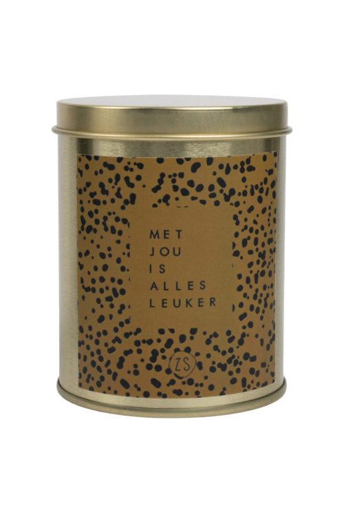 no28wonen.nl -Zusss geurkaars in blik - no28wonen en lifestyle
