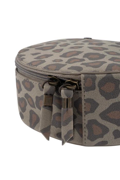 no28wonen.nl -Zuss make-up tasje rond leopard - no28wonen en lifestyle
