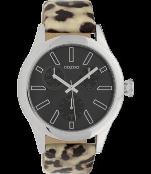 no28wonen.nl -Oozoo leopard horloge C9798 - no28wonen en lifestyle