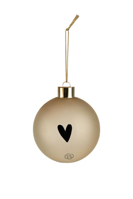 no28wonen.nl -Zusss doosje met 4 kerstballen goud- no28wonen en lifestyle