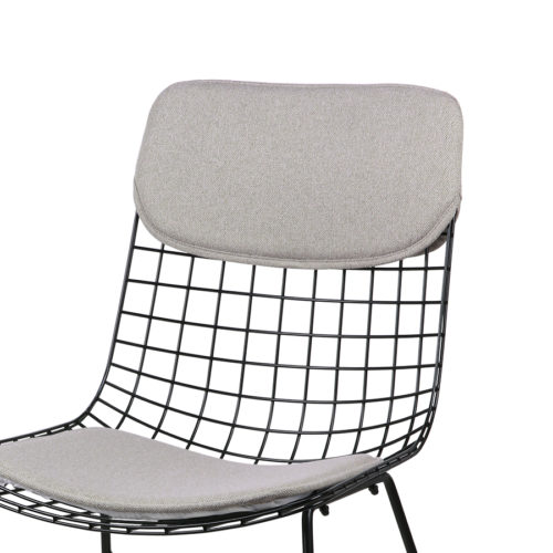 HKLIVING wire chair comfort kit pebble no28wonen.nl wonen en lifestyle webshop