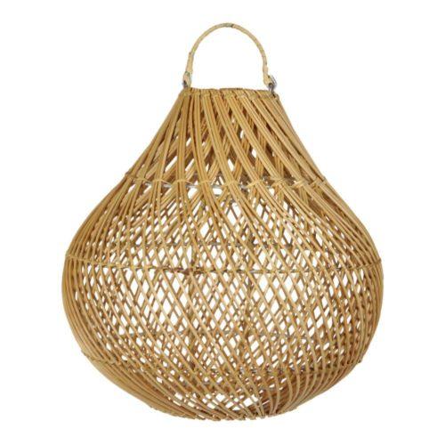 earthware lamp rotan naturel Lucy m - wonen en lifestyle no28wonen