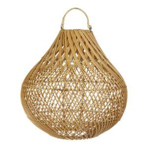 earthware lamp rotan naturel Lucy S - wonen en lifestyle no28wonen