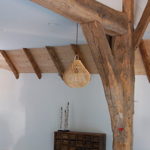 earthware lamp rotan naturel Lucy S - wonen en lifestyle no28wonen