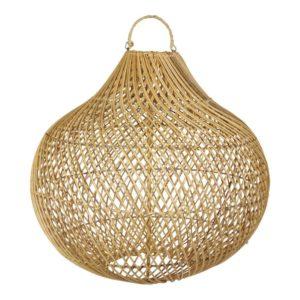 earthware lamp rotan naturel Lucy L - wonen en lifestyle no28wonen