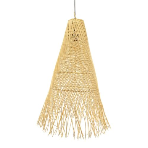 earthware lamp lamp rotan naturel Raffi m - wonen en lifestyle no28wonen