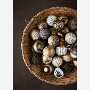 madam stoltz handbeschilderde kerstbal no28wonen.nl wonen en lifestyle webshop