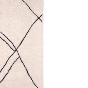 hkliving handgeweven vloerkleed zwart wit no28wonen.nl wonen en lifestyle webshop