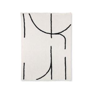 hkliving plaid zwart wit lijnen no28wonen.nl wonen en lifestyle webshop