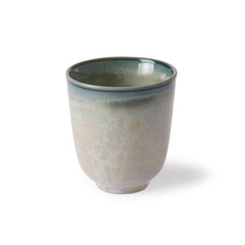 HKliving home chef ceramics mok grijs/groen - wonen en lifestyle no28wonen