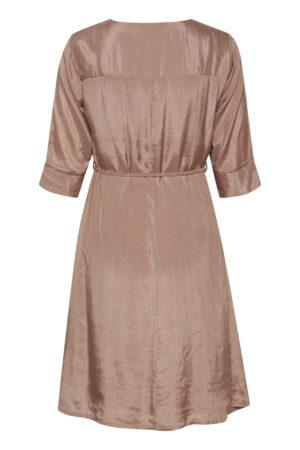 CRJilva dress rose bruin shop je bij no28wonen.nl