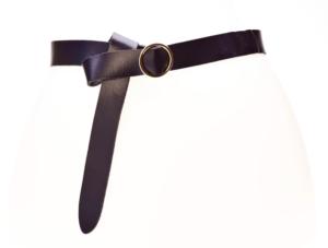 Elvy plain belt zwart no28wonen.nl