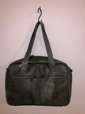 Cowboysbag tas Ormond Groen no28wonen.nl