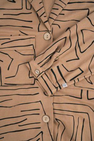 Zusss-doorknoopjurk-met-safariprint-kaki-no28wonen